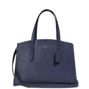 Coach Rivets Charlie Carryall